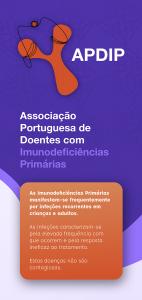 Capa do folheto da APDIP
