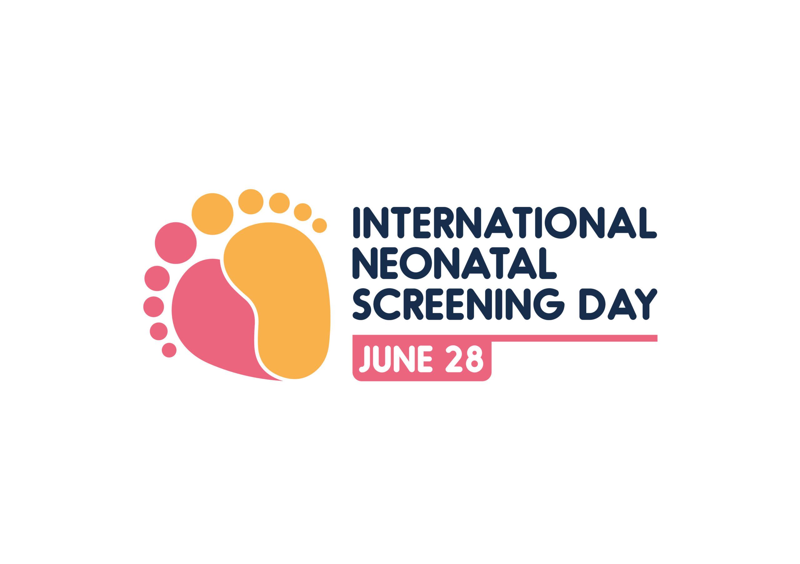 Logo Dia Internacional do Rastreio Neonatal